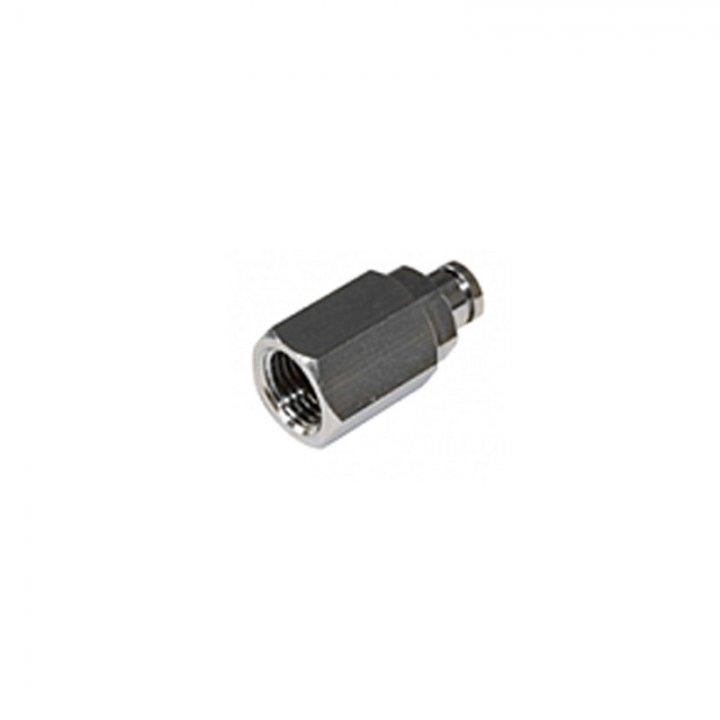 Коннектор резьбовой внутренний 1/4 для нейлоновой трубы 5 мм