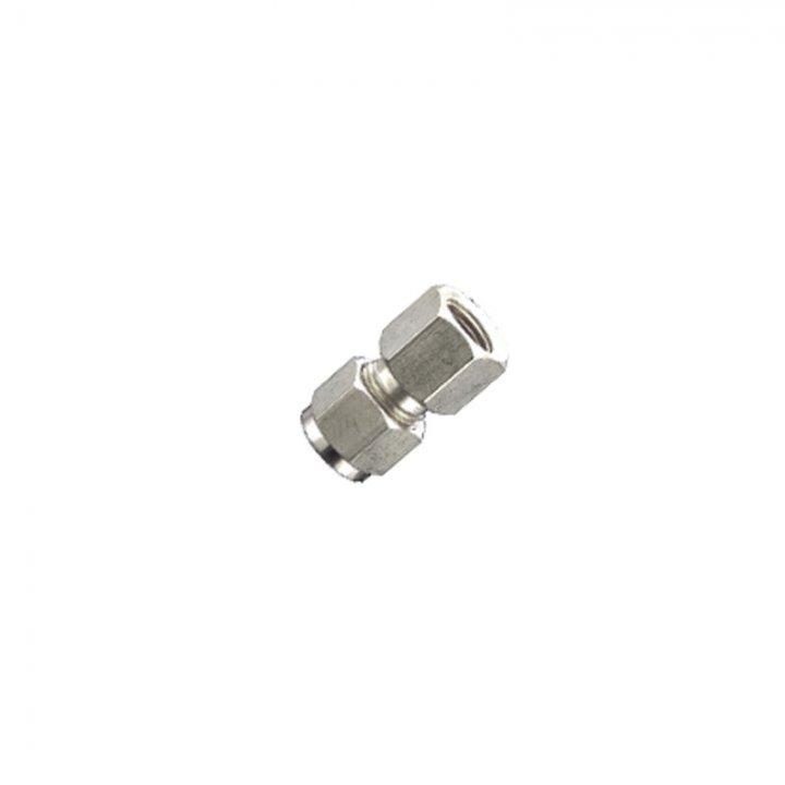 Конектор різьбовий внутрішній 1/4 для нержавіючої труби 12 мм х 3/8 вн.
