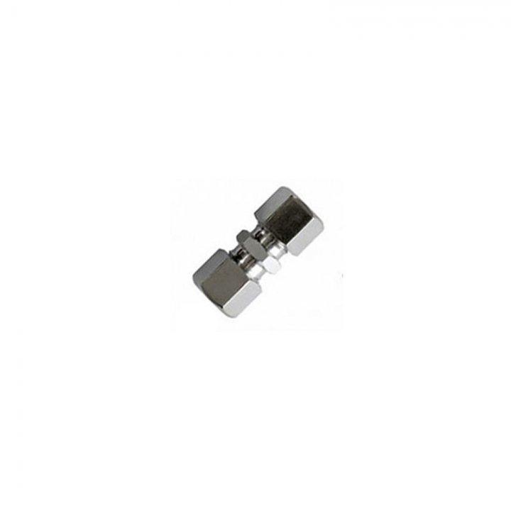 Муфта з'єднувальна для нержавіючих труб 10 мм х 10 мм