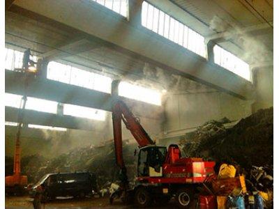 Подавление пыли и запахов