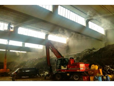 Угнетение и контроль запахов при переработке мусора, очистке стоков